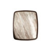 Hayman Brown Marble Topped Side Table 3