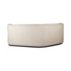 Julson Upholstered Curved Beige Fabric Sofa 8