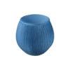 Luna Round Navy Blue Pouf 2