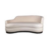 Noir Upholstered Curve Shape Sofa 1