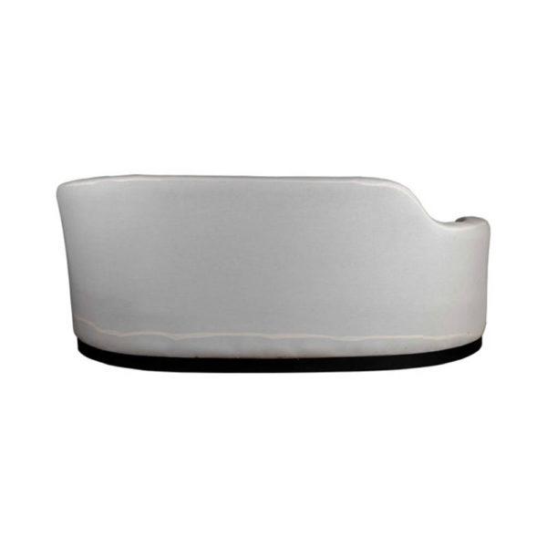 Noir Upholstered Curve Shape Sofa Back