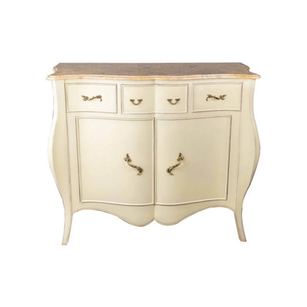 Oslo Cream with Marble Top Sideboard