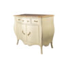 Oslo Cream with Marble Top Sideboard 4