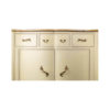 Oslo Cream with Marble Top Sideboard 3