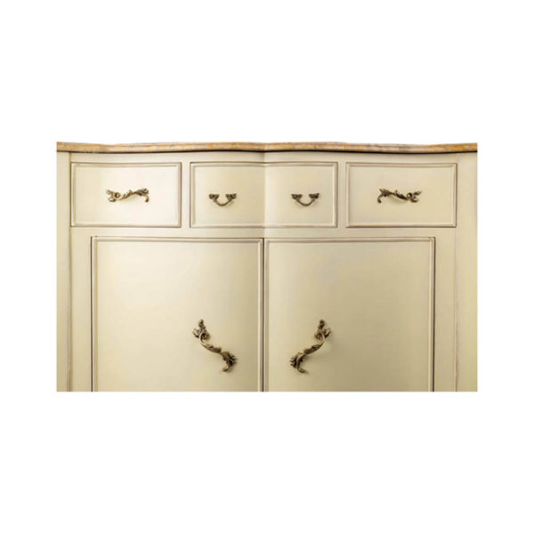 Oslo Cream with Marble Top Sideboard Details