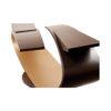 Penland Eclipse Dark Brown Coffee Table UK 9