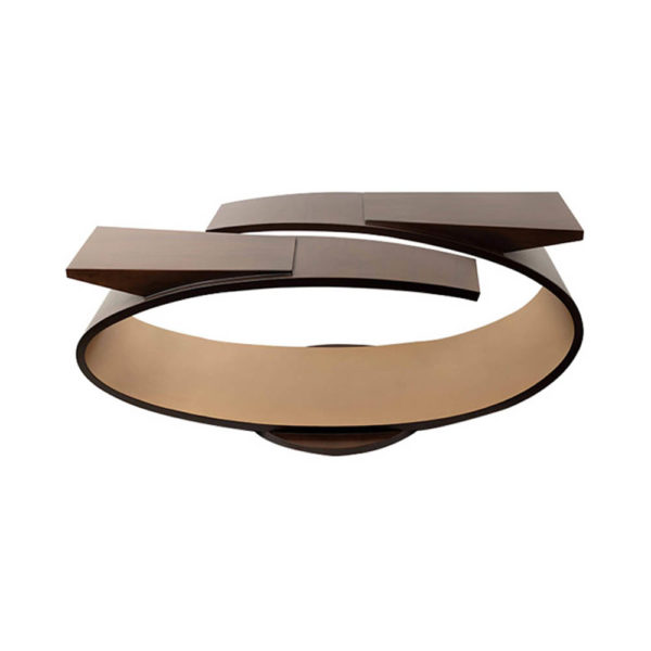 Penland Eclipse Dark Brown Coffee Table UK Front