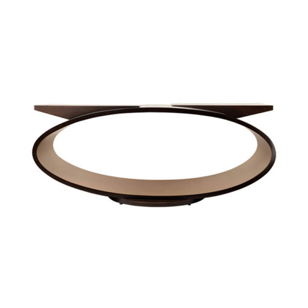 Penland Eclipse Dark Brown Coffee Table UK Front View
