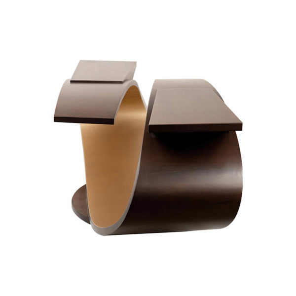 Penland Eclipse Dark Brown Coffee Table UK Right View