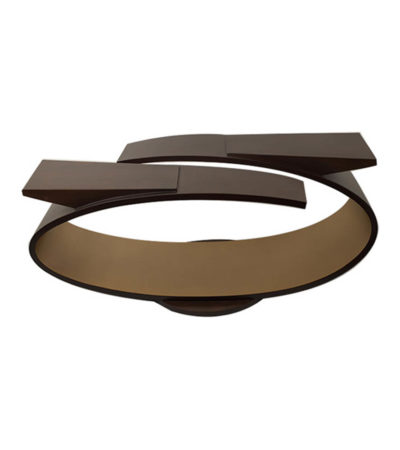 Penland Eclipse Dark Brown Coffee Table UK View