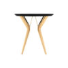 Wellington Black Side Table with Golden Legs 3