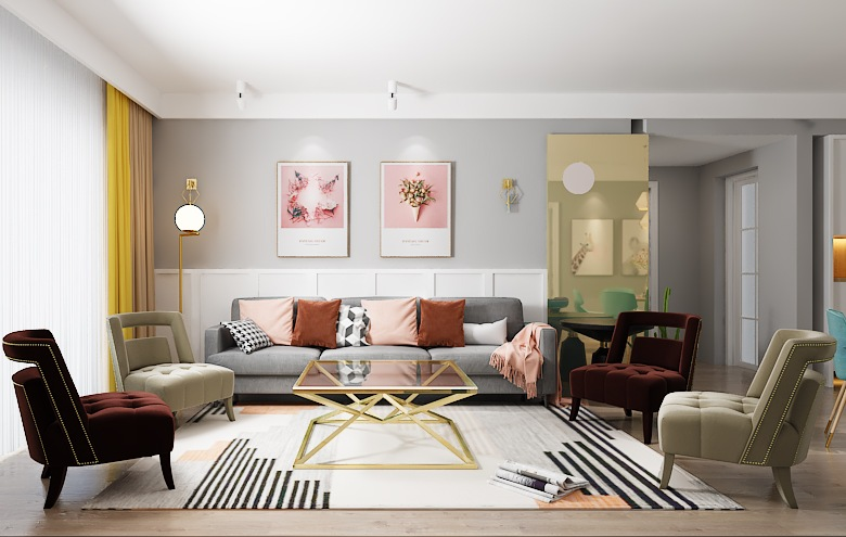 How to mix and match sofas and chairs? 1