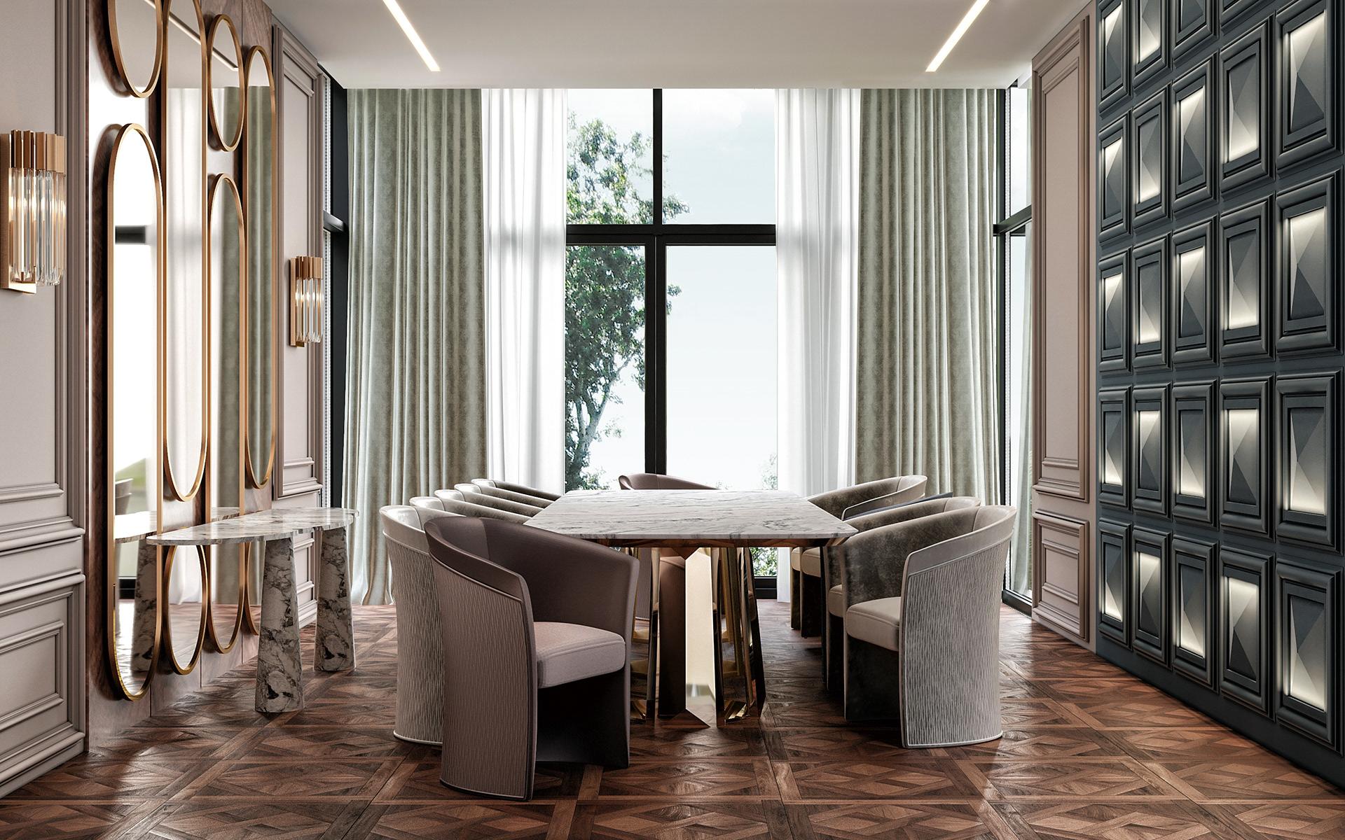 Pimlico Luxury Dining Room Furniture 1