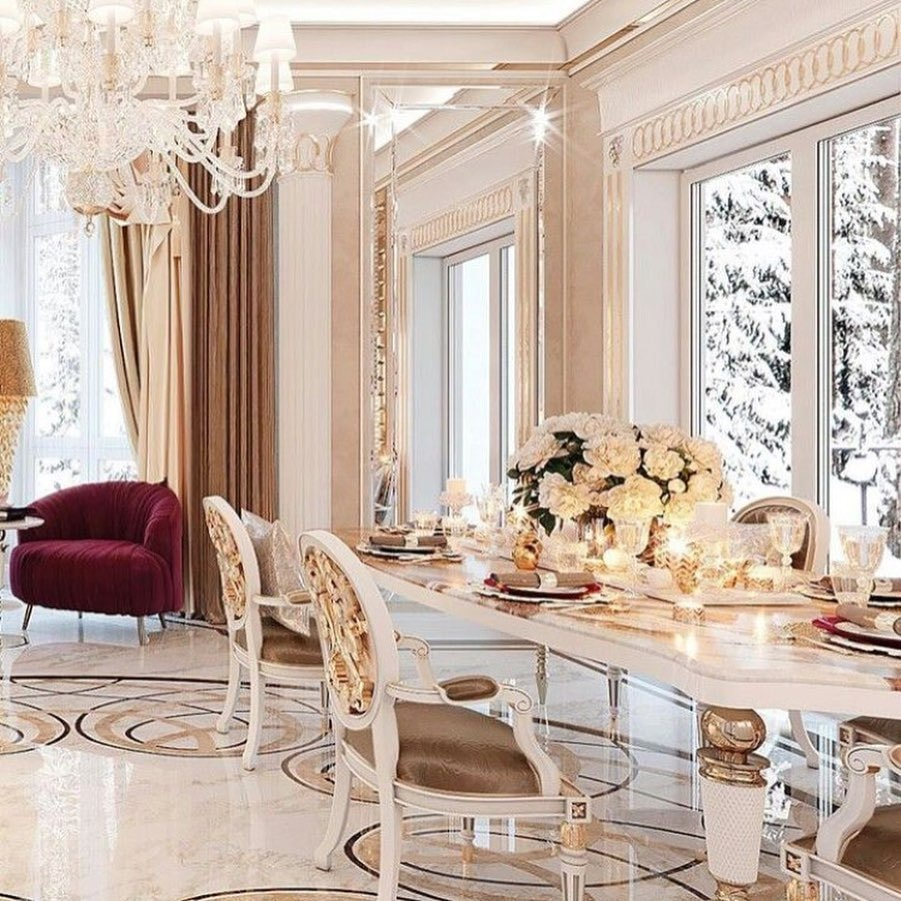 Marble Arch Luxury Dining Room Furniture 1