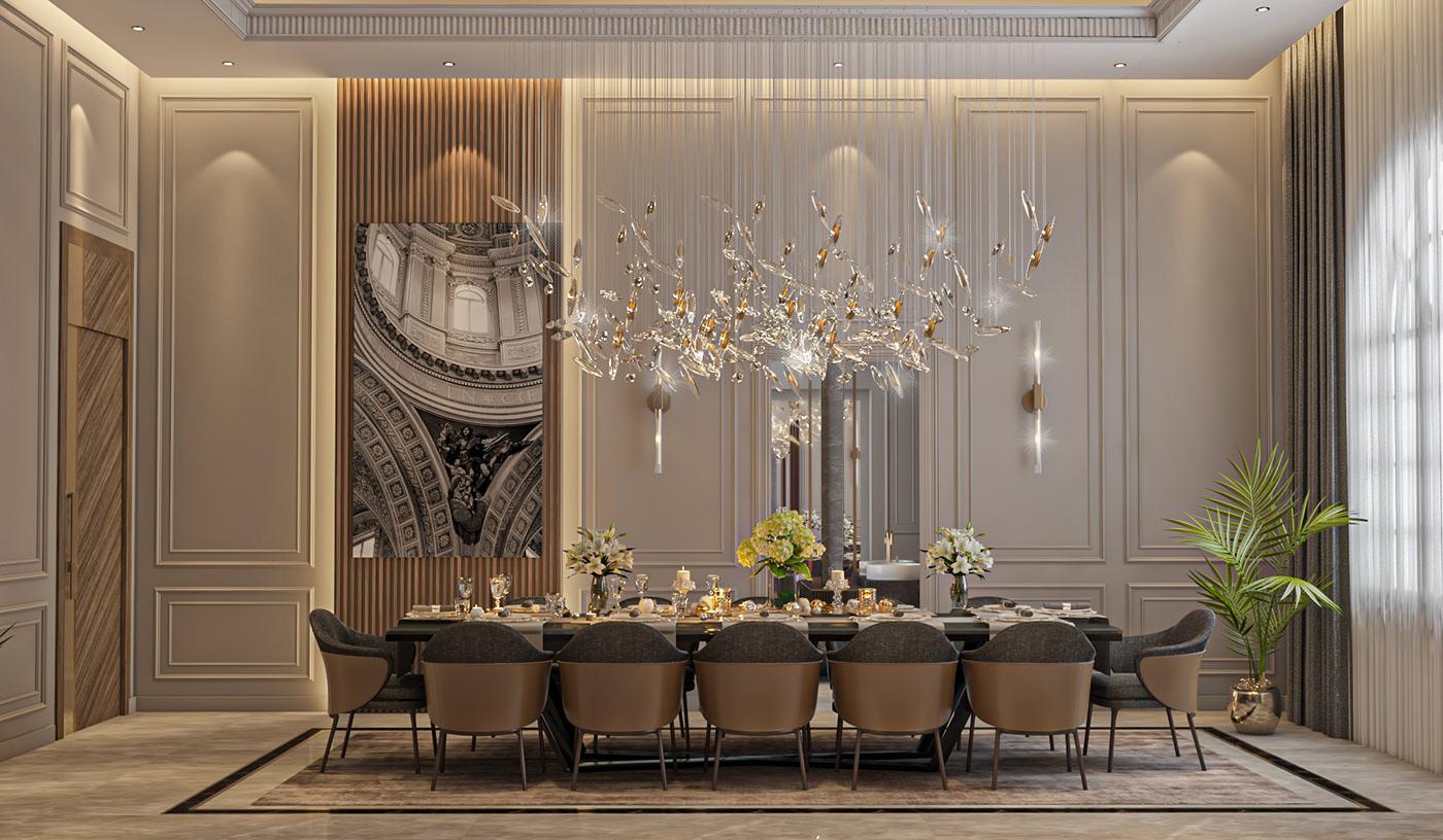 Victoria Luxury Dining Room Furniture 1