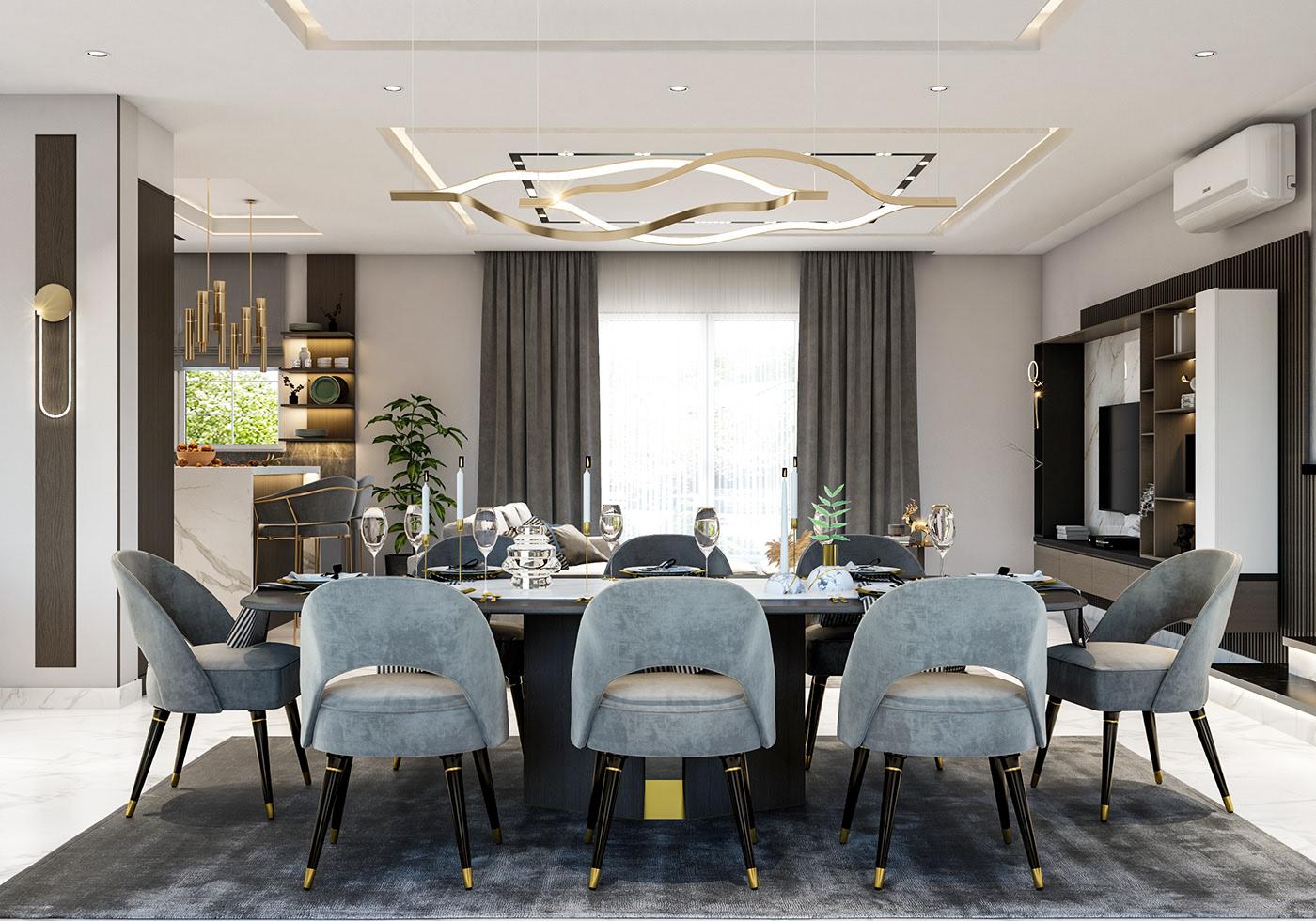 Wimbledon Luxury Dining Room Furniture 1