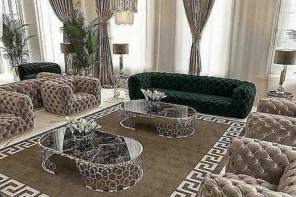 Arabic Tufted Majlis Furniture From UK