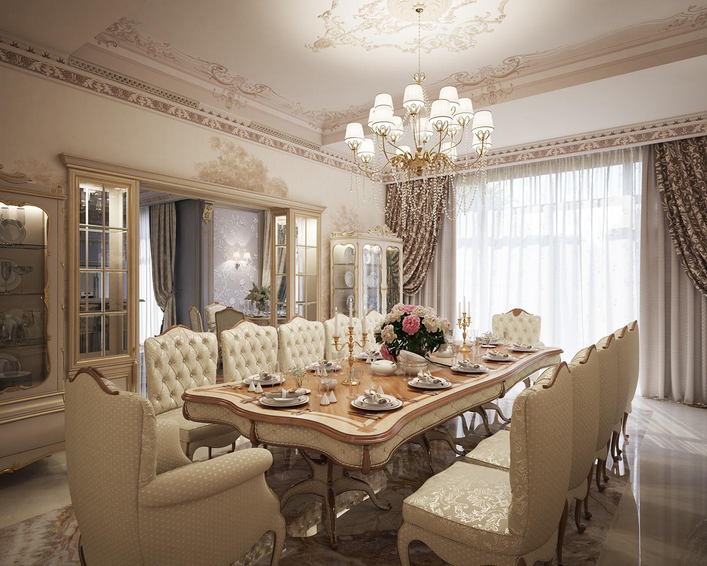 Battersea Luxury Dining Room Furniture 1