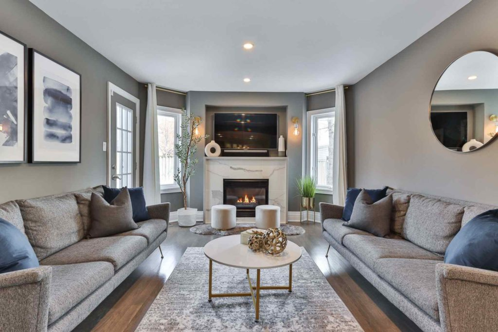 5 Tips to Create the Perfect Blue and Grey Living Room 1
