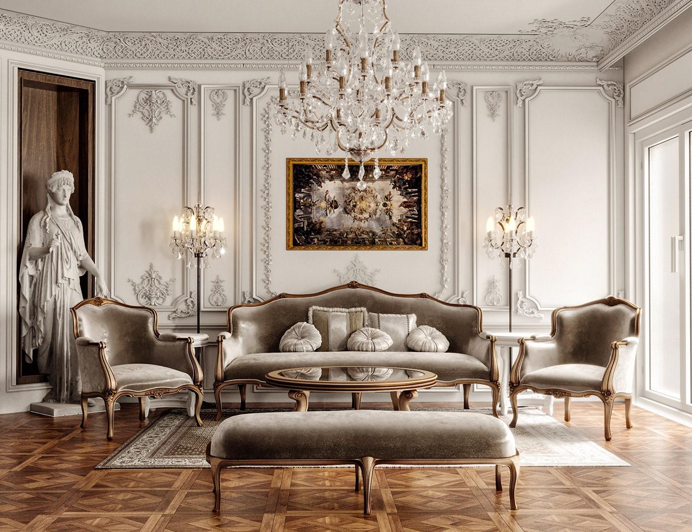 Maida Hill Luxury Living Room Furniture 1