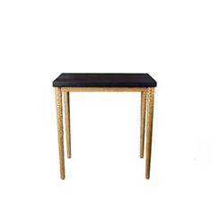 Amoir Side Table Black