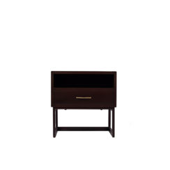 Ascot Bedside Table Brown
