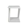 Claremont Oak Gray Z Shaped Side Table 4