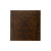 Claremont Z Shaped Brown Walnut Side Table 6