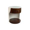 Corndell Cream White Small Bedside Table 1