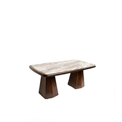 Hayman Brown Marble Coffee Table Top