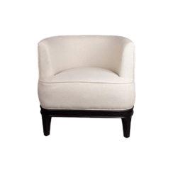 Marais Upholstered Tup Beige Armchair