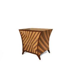 Sahco Bedside Table Beige
