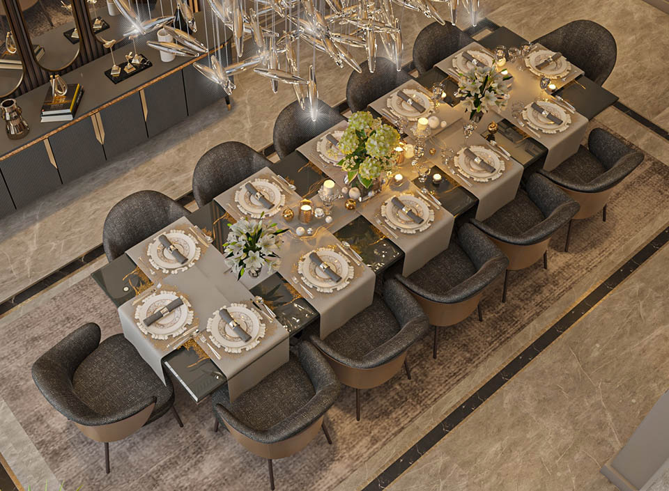 Victoria Luxury Dining Room Furniture 2