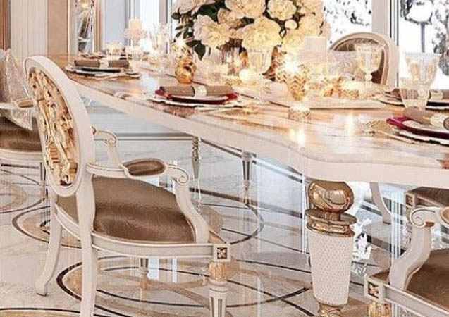 Marble Arch Luxury Dining Room Furniture 2