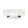 Silviano Lacquer Cream White Wood Console Table 4
