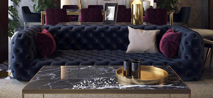 Manchester Luxury Living Room Furniture 2