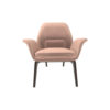Hermes Upholstered Rolling Arm Chair 1