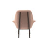 Hermes Upholstered Rolling Arm Chair 4