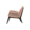 Hermes Upholstered Rolling Arm Chair 3