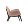 Hermes Upholstered Rolling Arm Chair 2