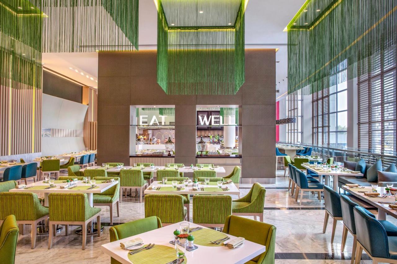 Luxury Green Restaurant
