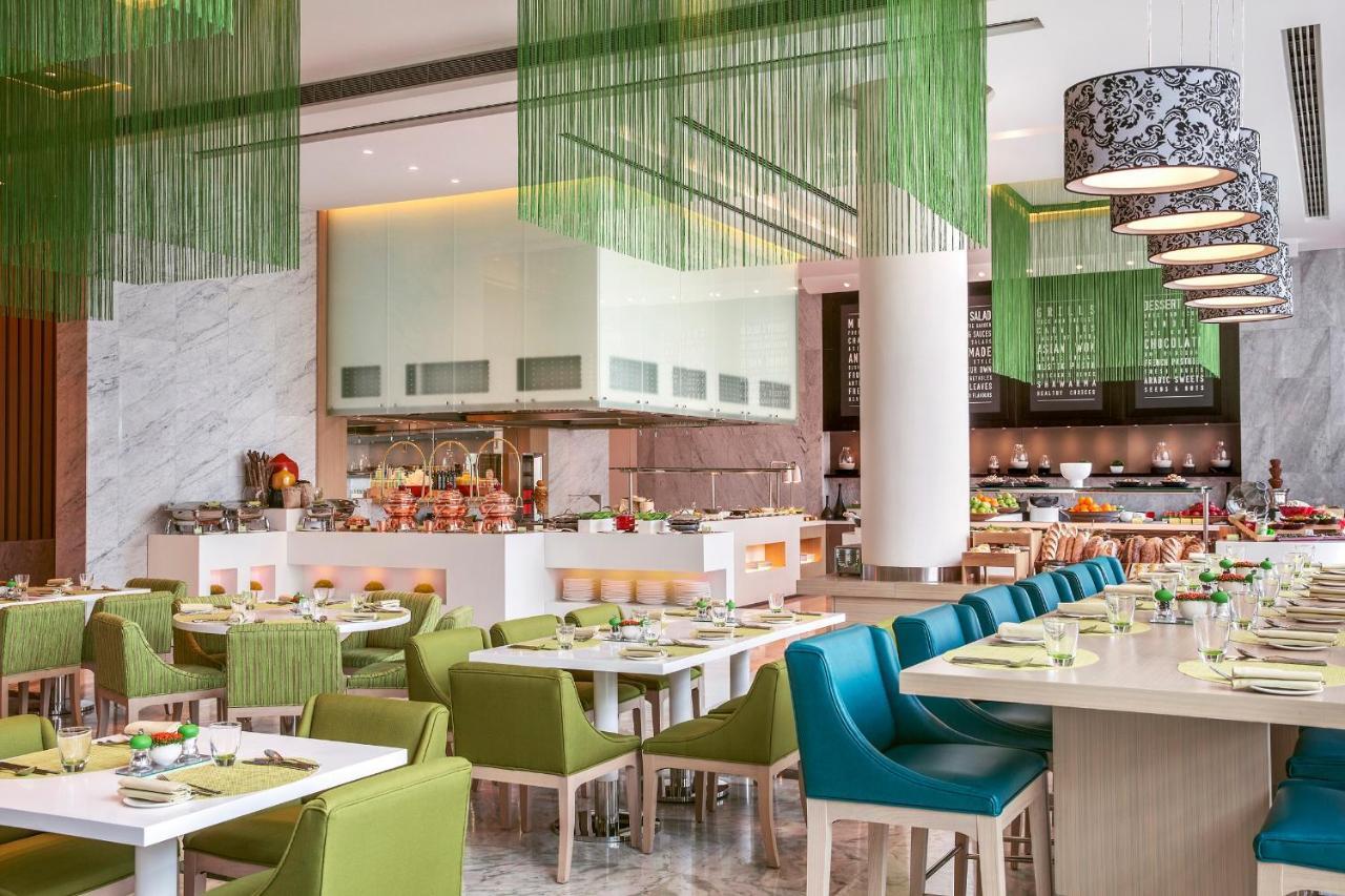 Modern Green Blue Restaurant