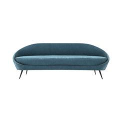 Naida Upholstered with Slope Arm Sofa