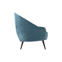 Naida Upholstered with Slope Arm Sofa Right