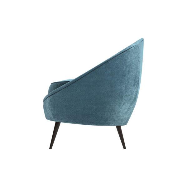 Naida Upholstered with Slope Arm Sofa left