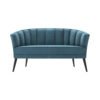 Zoue Upholstered Striped Round Back Sofa 1