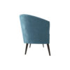 Zoue Upholstered Striped Round Back Sofa 2