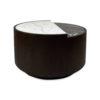 Trujillo Modern Black Coffee Table with Marble Top 1